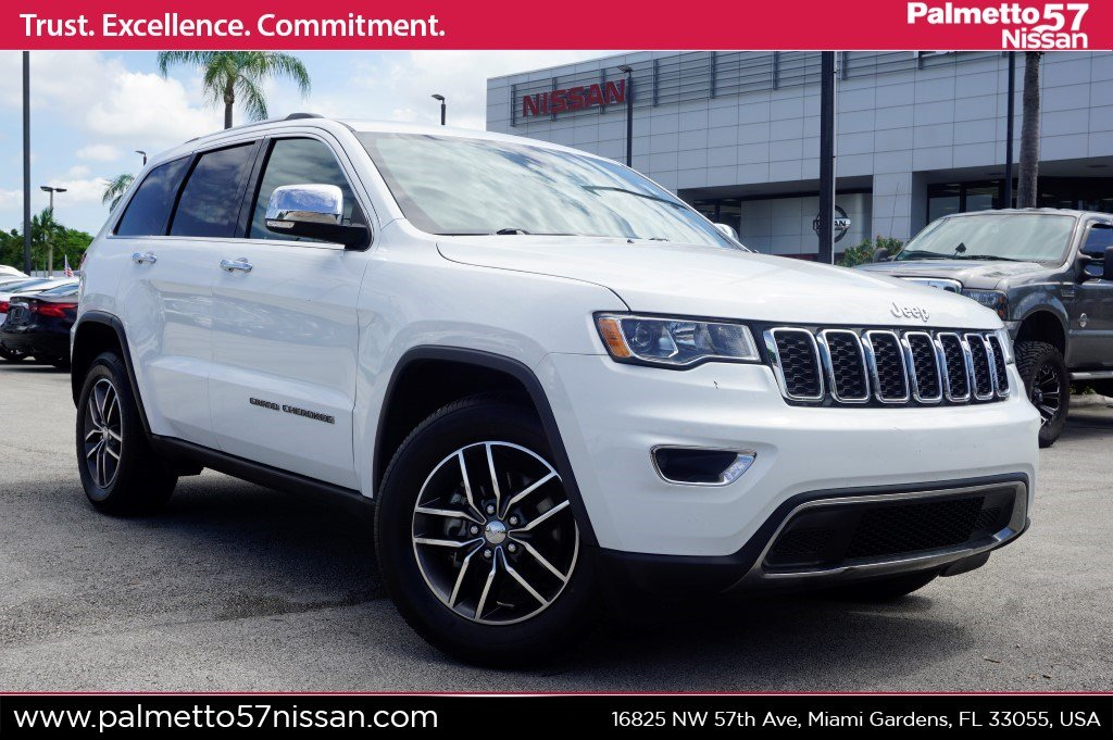 2018 Jeep Grand Cherokee >> Pre Owned 2018 Jeep Grand Cherokee Limited Rwd 4d Sport Utility