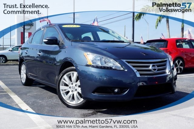 Pre-Owned 2013 Nissan Sentra SL