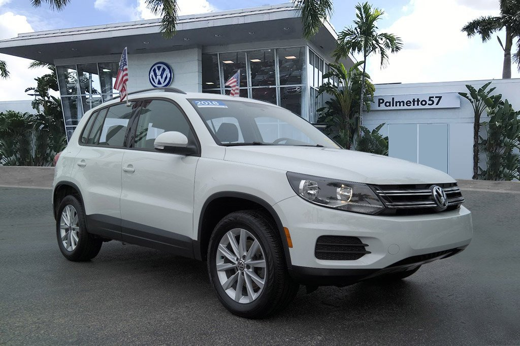Certified Pre-Owned 2018 Volkswagen Tiguan Limited 2.0T