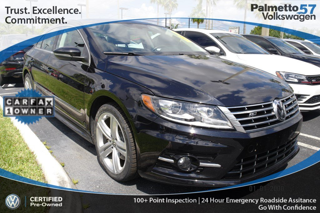 Certified Pre Owned 2016 Volkswagen Cc 2 0t R Line