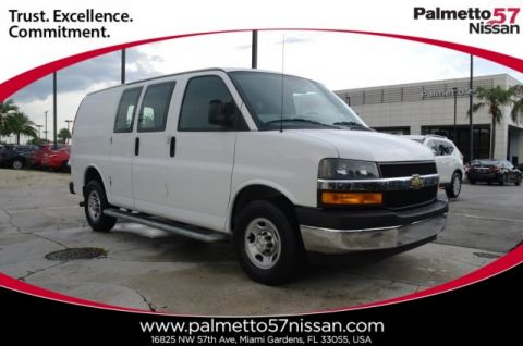Pre-Owned 2018 Chevrolet Express 2500 Work Van