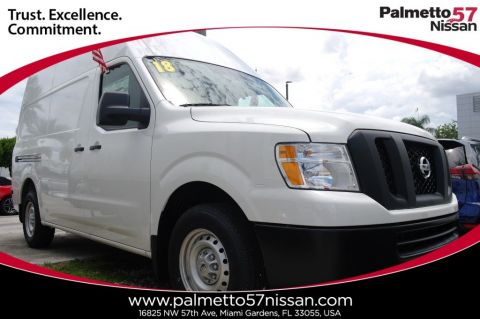 Pre-Owned 2018 Nissan NV2500 HD S