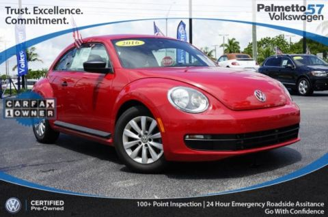 Certified Pre-Owned 2016 Volkswagen Beetle 1.8T Classic